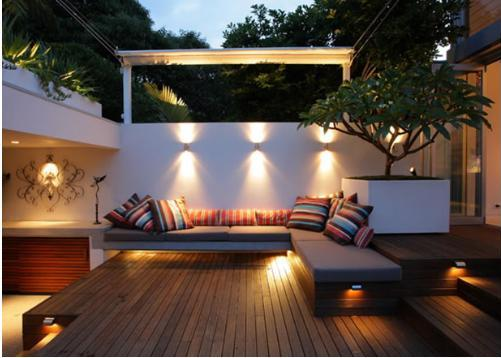 Courtyard-garden-lighting-ideas