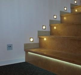 LED osvetljenje stepeništa