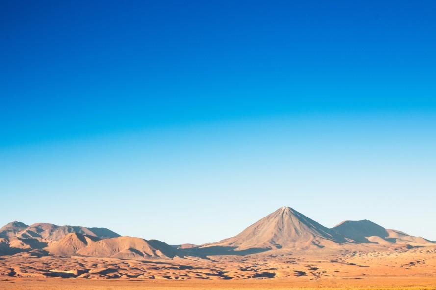 Atacama pustinj u Chile-u