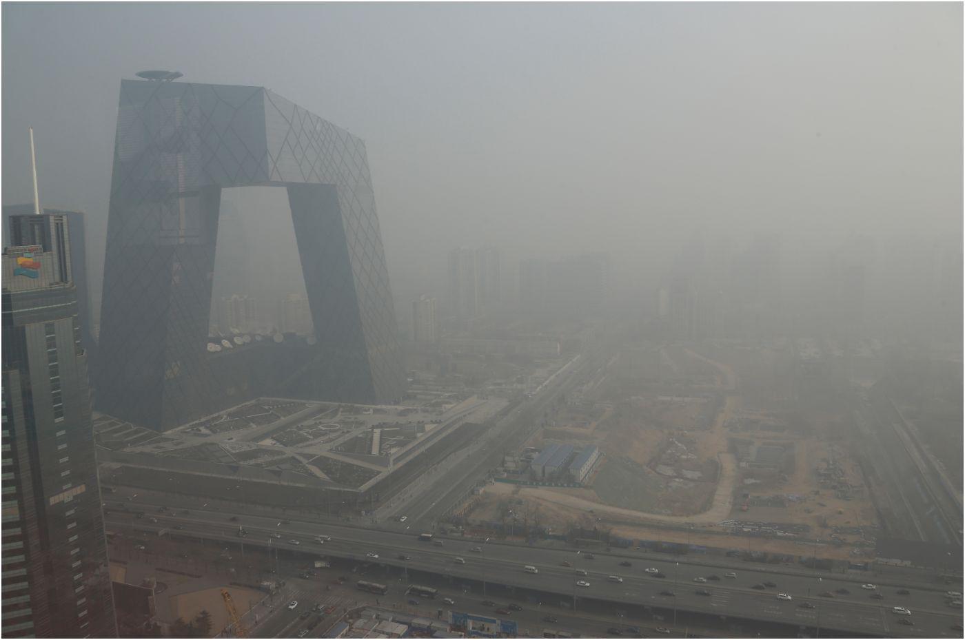 Kina u velikim količinama smoga