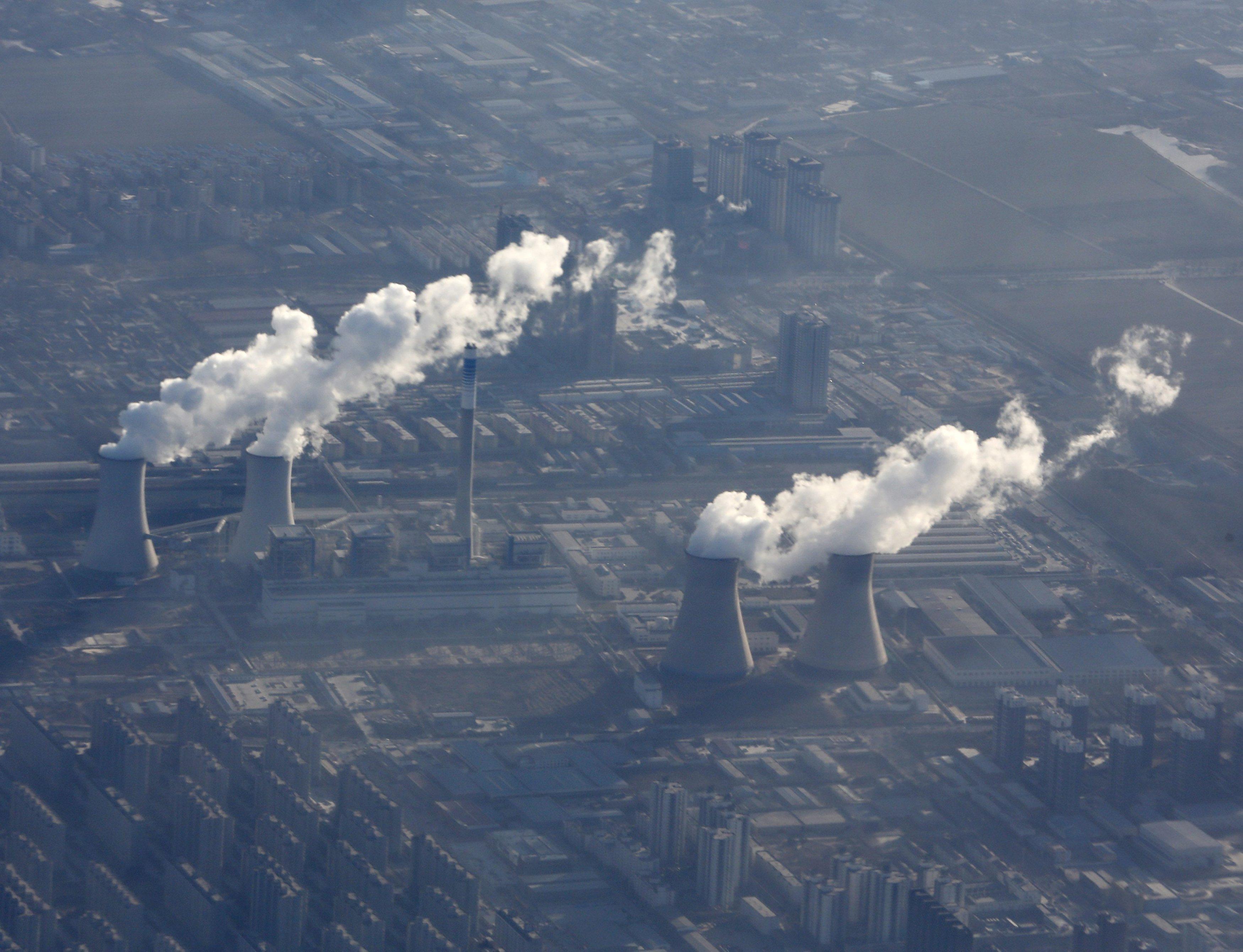 Kineska industrija zagađenje